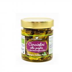 Bio Organica Italia - Artichauts grillés à l'huile BIO 190g (demi)