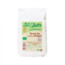 Ma vie sans gluten -  farine de riz et châtaignes mvsg 500g