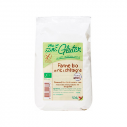 Ma vie sans gluten - rijstmeel met kastanjes mvsg 500g