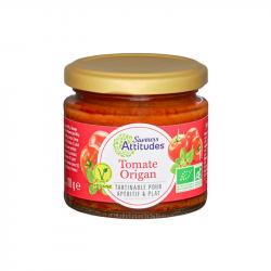 Saveurs Attitude - Tartinable de légumes au tomate-origan BIO 110g