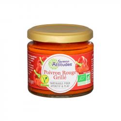 Tartinable de légumes au poivron rouge grillé BIO 110g