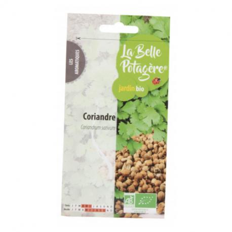 La Belle Potagère - Graines de Coriandre Bio 1g