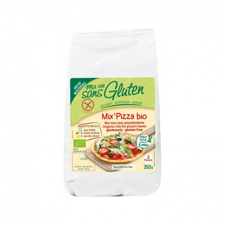 MA VIE SANS GLUTEN mix préparation pizza 350g