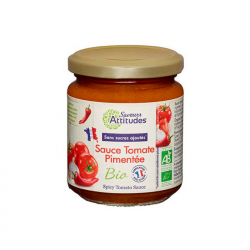 Saveurs Attitude - Sauce tomate BIO pimentée 200g
