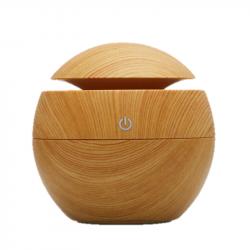 Diffuser of essential oils (light wooden print) 130ml