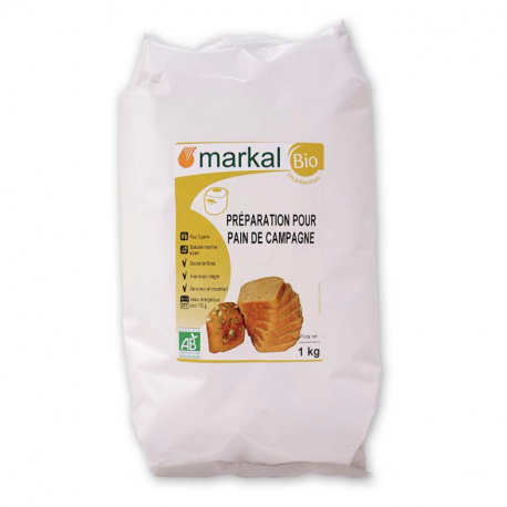 Markal - FLOUR FOR COUNTRY BREAD 1KG