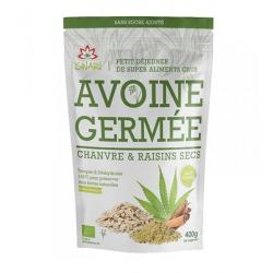 Iswari - Avoine Germée Chanvre & Raisins Secs 400g