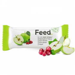 Feed - Barre Repas Pomme 100g