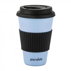 Pandoo - Bamboo Coffee Mug (Blue)  1x