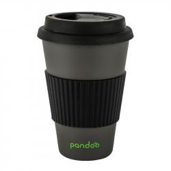 Pandoo - Tasse à Café en Bambou (Noire) 1x