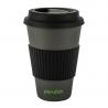 Bamboe koffiemok zwart 1 stuk