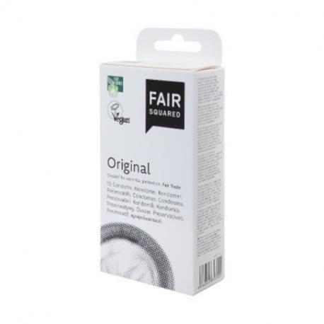 Fair Squared - Original, 10 condooms