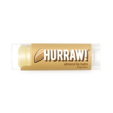 HURRAW! - Almond Lip Balm 4,3g
