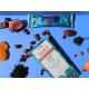 SUPER TABLETTE AU CHOCOLAT NOIR CRU 70% ÉQUITABLE ET 5g SPIRULINE