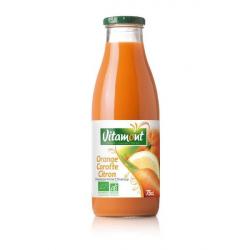 Vitamont - Sinaasappel Wortel en Citroen Sap Bio 0,75L
