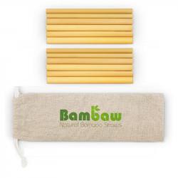 Bambaw - 12 Pailles en bambou 14cm