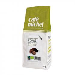 Café Michel - Mélange Corsé Grains Pérou/Tanzanie Grains 1kg