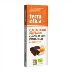 TerraEtica - Pure Chocolade 70% Rauwe Cacao Physalis Ecuador 100g