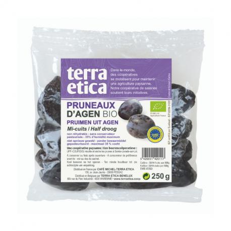 TerraEtica - Pruneaux d'Agen mi-cuits 250g
