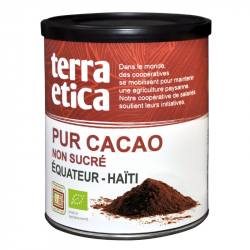 TerraEtica - Pure Cacao Zonder Suiker Madagaskar/Ivoorkust/Togo Bio 200g