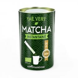 Aromandise - Thé Matcha Instantané Bio (25 Sticks de 0,5g)