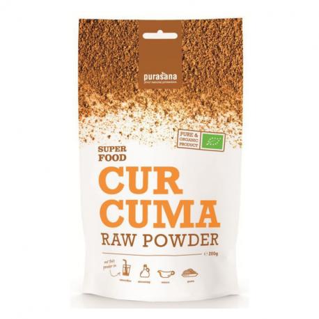Purasana - Curcuma Powder Organic 200 g