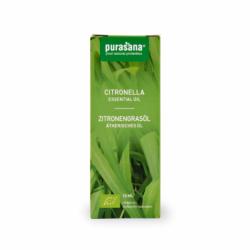 Purasana - Huile Essentielle de Citronelle de Java Bio 10ml