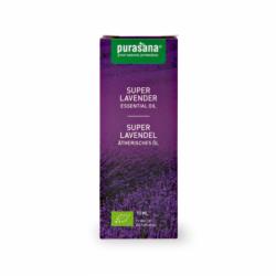 Purasana - Huile Essentielle de Lavendin super - Lavandula burnati briquet Bio 10ml