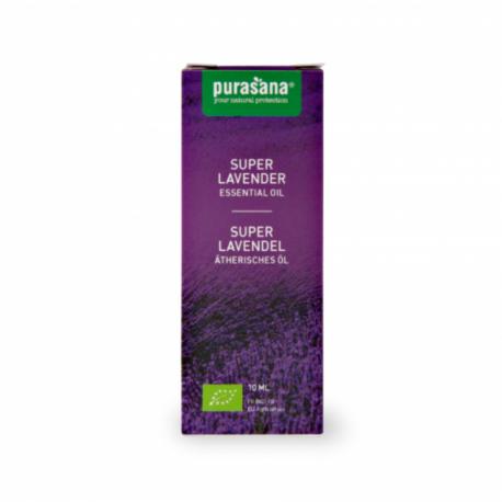 Purasana - Essential Oil Lavendin - Lavandula burnati briquet Organic 10ml