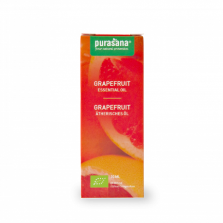 Purasana - Essential Oil of Grapefruit - Citrus paradisi Macfad. Organic 10ml