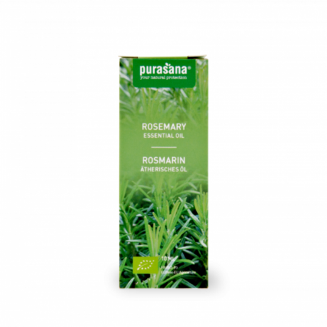 Purasana - Essential Oil Rosemary- Rosmarinus officinalis L. Organic 10 ml