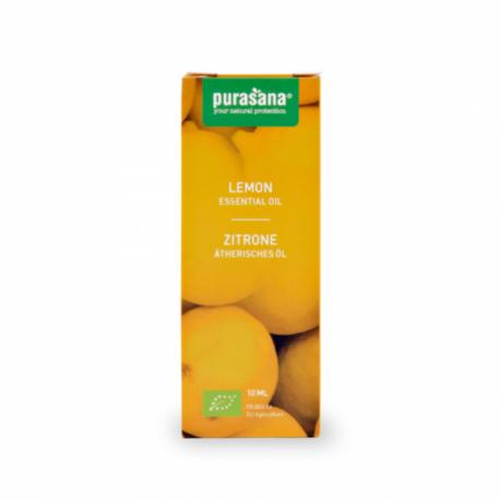 Purasana - Essential Oil Lemon - Citrus limon (L.) Burm. f. Organic 30 ml