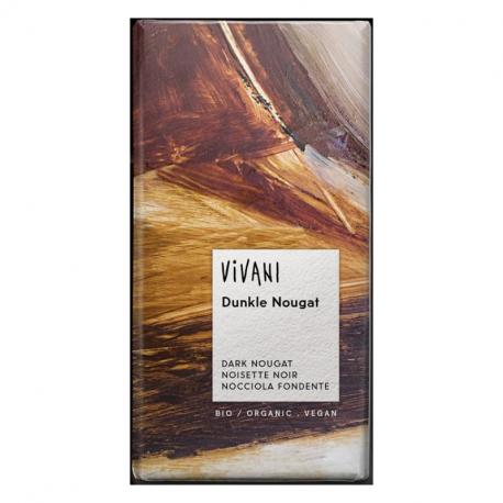 Vivani - Dark Chocolate Nougat Organic 100g