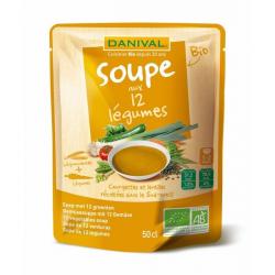 Danival - Soep met 12 Groenten Bio 50cl