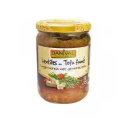 Danival - Lentils with Smoked Tofu 525g
