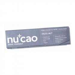 NUCAO - Reep op basis van Hennep en Rauwe Cacao - Coconut 40g