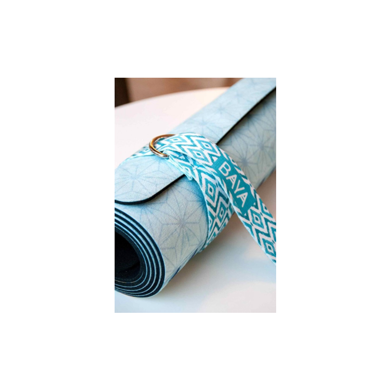 Acheter Sangle Pour Tapis De Yoga Bleu Baya