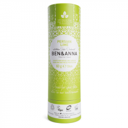 BEN&ANNA - Deodorant stick Persian Lime (Papertubes) 60g