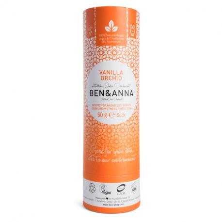 BEN&ANNA - Deodorant stick Vanilla Orchid (Papertube) 60g