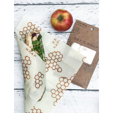 Bee's Wrap voedselverpakking Pack 3 formaten