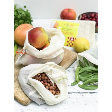 Ah! Table! - Pack of 5 tea bags reusable