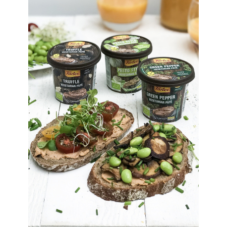 Tartex - Paté végétarien poivre vert 125g