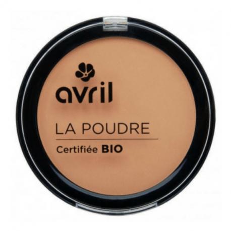 Poudre Compacte dorée - certifiée Bio