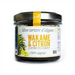 Algae tartare - Wakame & lemon - Marinoe - Organic - 90g