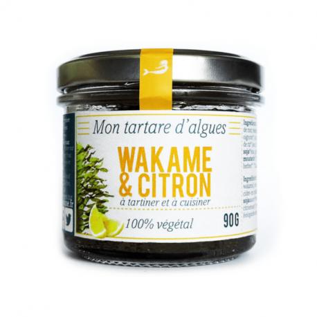 Algen tartaar - Wakame & citroen - Marinoe - Bio - 90g