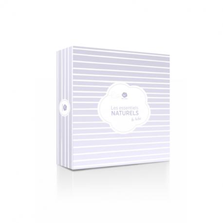 BaBee Nature - Coffret Naissance - Lait Corporel & Gel Lavant