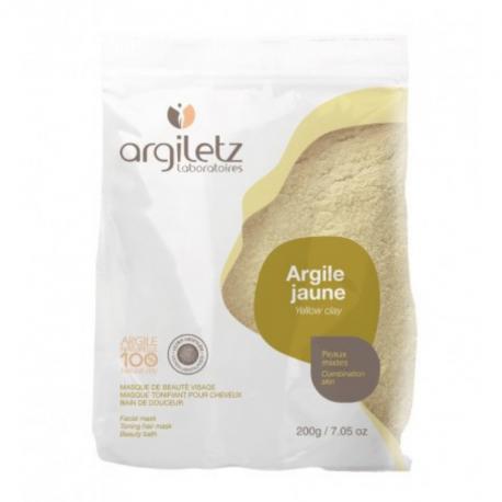 Argiletz - Argile jaune ultra ventilée 200g