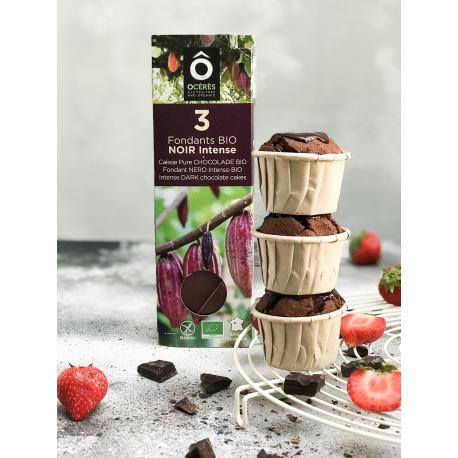 Happy Go - Chocolade Mini Cakes 3x55g (Glutenvrij en Lactosevrij)