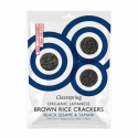 Clearspring - Crackers of rice with black sesame 40g Bio