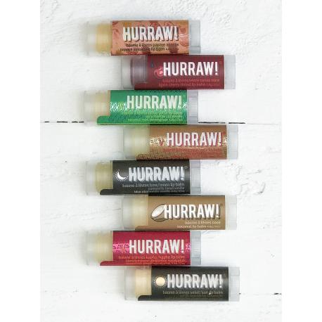HURRAW! - Baume à Lèvres Cerise Noir 4,3g